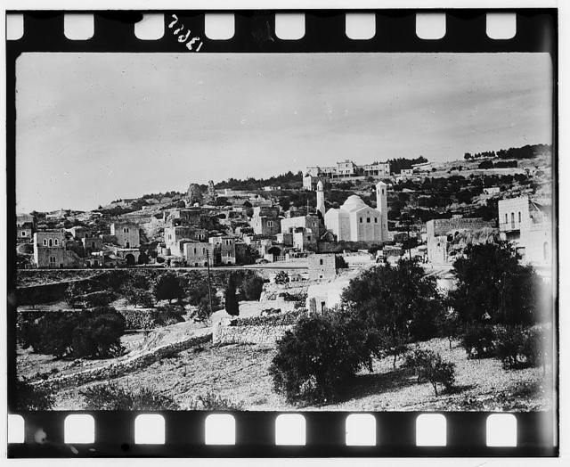 Bethany. Village showing Church of Lazarus