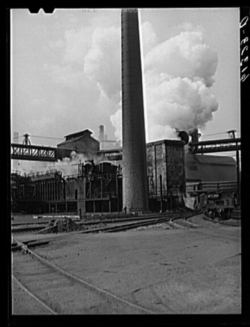 Bethlehem steel mill. Sparrows Point, Maryland