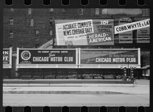 Billboards, Chicago, Illinois