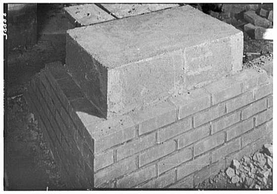 Brick Manufacturers Association. Detail VIII