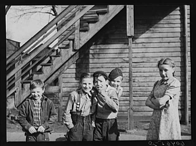 Children. Dubuque, Iowa