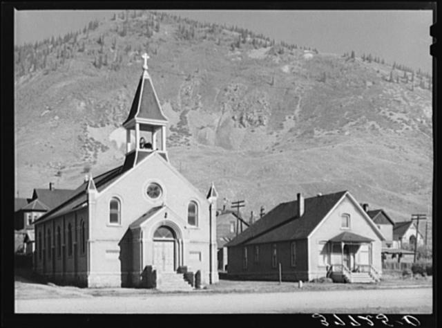 Church and parsonage. Silverton, Colorado