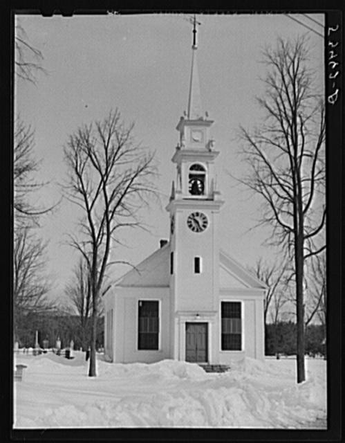 Church in Center Sandwich, New Hampshire