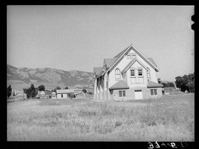 Church of the Latter Day Saints. Mendon, Utah