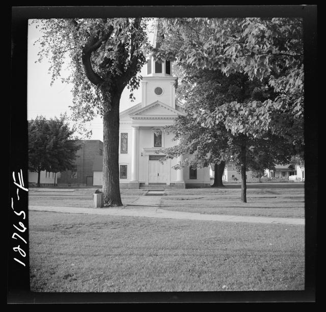 "Church on the ""green."" Bristol, Vermont"