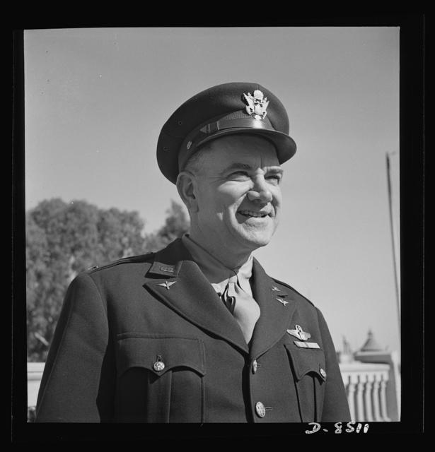 Colonel Robert Kauch, Commanding Officer, Air Service Command, 9th Air Force, Garden City, New York