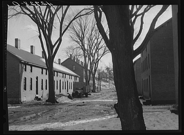 Company houses in Ashton, Rhode Island