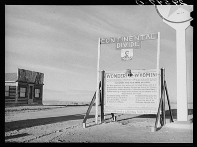Continental Divide. Sweetwater County, Wyoming
