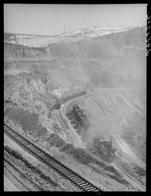 Copper pit. Ruth, Nevada