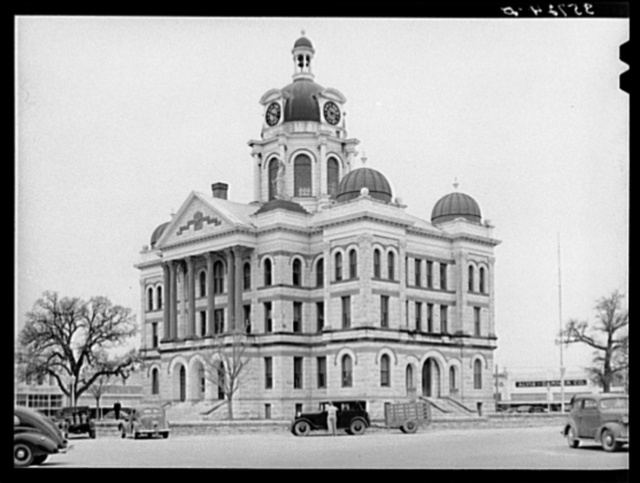 Courthouse. Gatesville, Texas