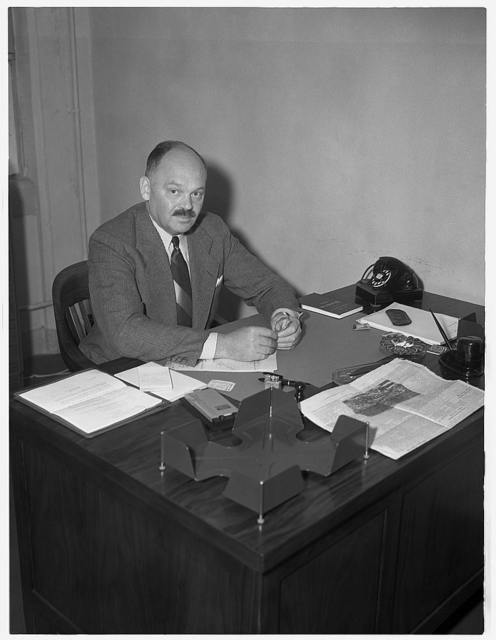 C.W. Boyce, consultant, Pulp and Paper Unit, Materials Division Office of Production Management (OPM). Secretary, Kraft Paper Association, New York City