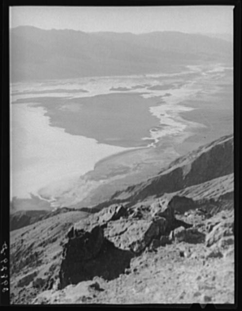 Dantes View. Death Valley, California