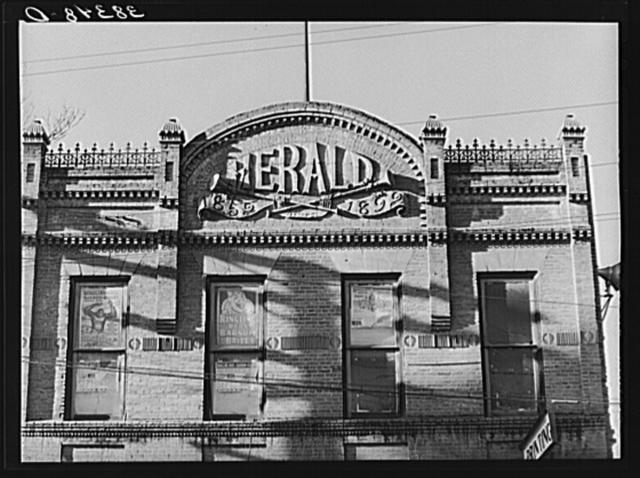 Detail of building. Auburn, California