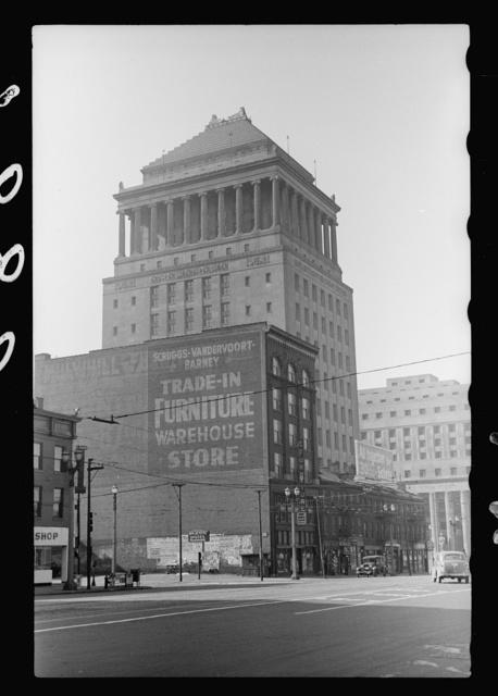 Downtown building, St. Louis, Missouri
