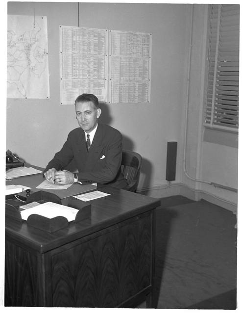 Dr. Ernest W. Reid, Assistant Chief, Chemical and Allied Products. Formerly Senior Industrial Fellow, Mellon Institute