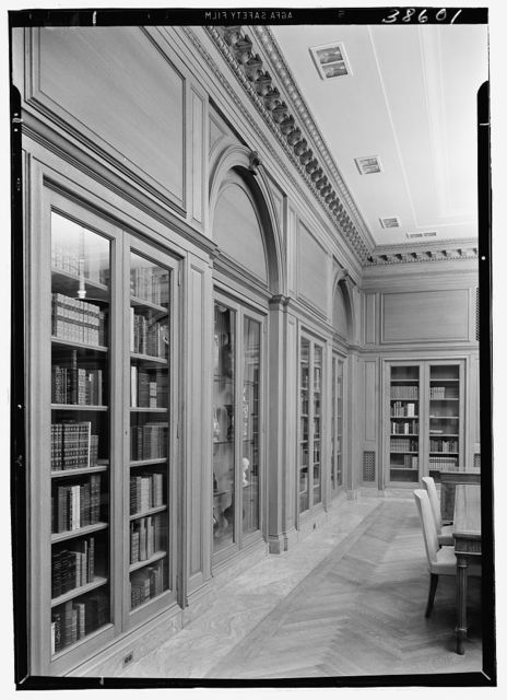 Dr. Henry W. Berg Room, at Public Library, 5th Ave. and 42nd St., New York Side wall, sharp view