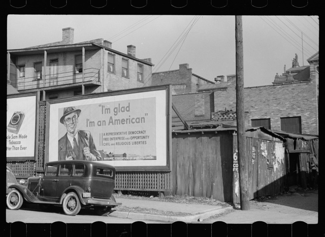 Dubuque, Iowa, National Association of Managers signboard