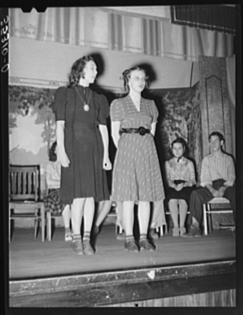 Duet, Americanization program. High school, Eufaula, Oklahoma