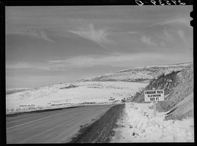 Emigrant Pass. Eureka County, Nevada