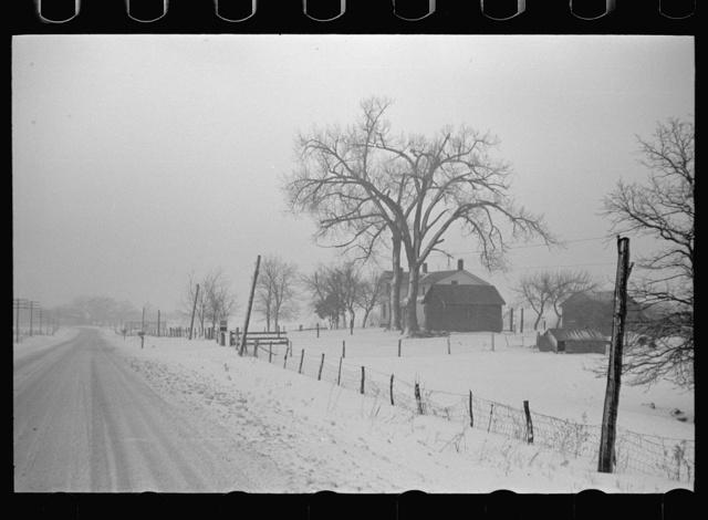Farm along U.S. 6, Iowa County, Iowa