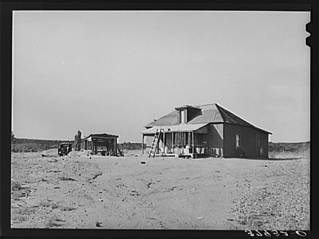 Farmstead. Concho, Arizona