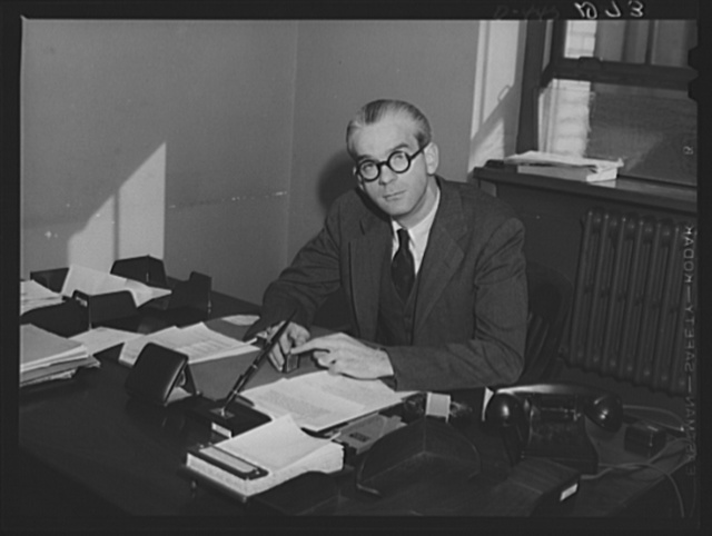Francis A. Jamieson, Chief, Division of Public Education and Information, and Special Assistant to the Coordinator, Office of Coordinator of Commercial and Cultural Relations between the American Republics