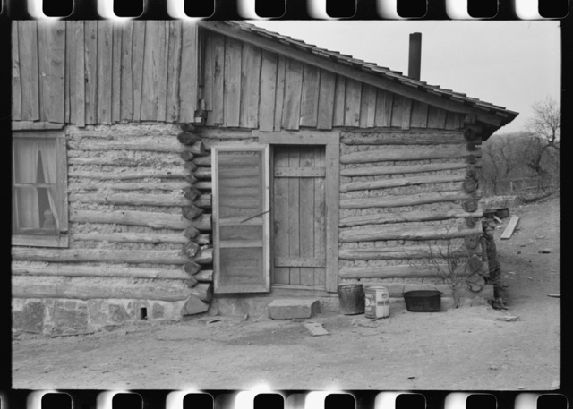 FSA (Farm Security Administration) borrower's home with new screening, Knox County, Kentucky