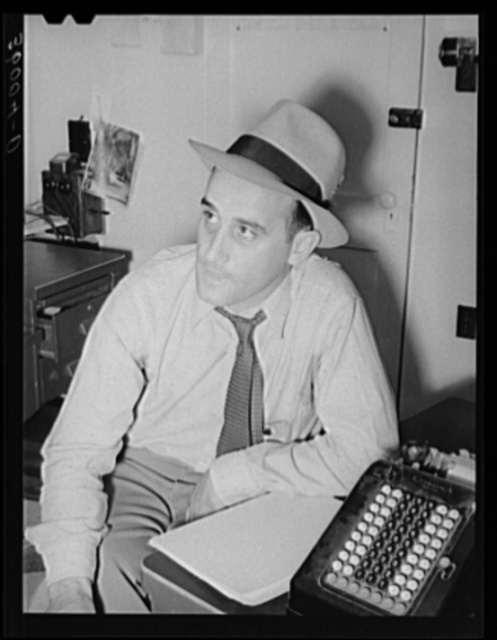 FSA (Farm Security Administration) regional official who is in charge of the permanent home for agricultural laborers at the Aqua Fria migratory camp. Arizona