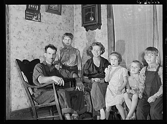 FSA (Farm Security Administration) rehabilitation borrower and family. Door County, Wisconsin