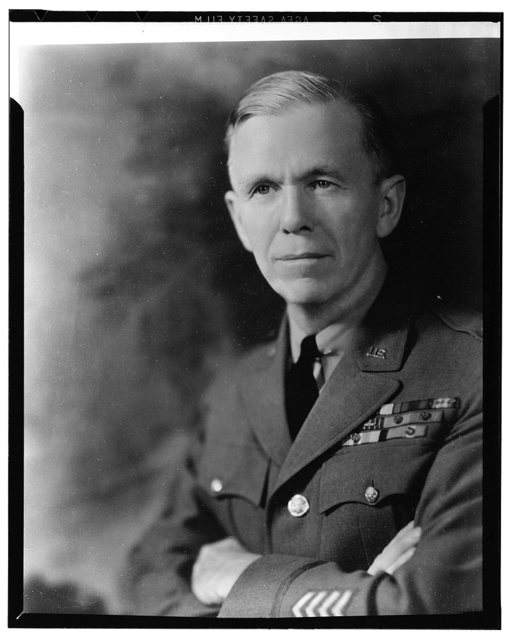 General George C. Marshall, chief of staff