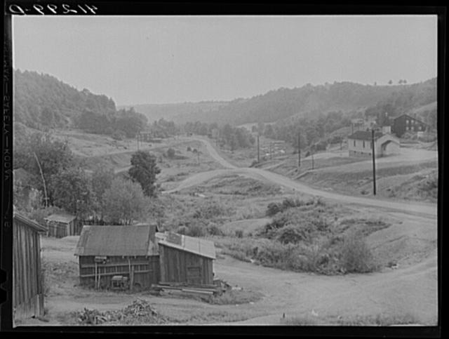 General view of Coal Hollow, Pennsylvania, about twelve miles south of Saint Marys City, Pennsylvania