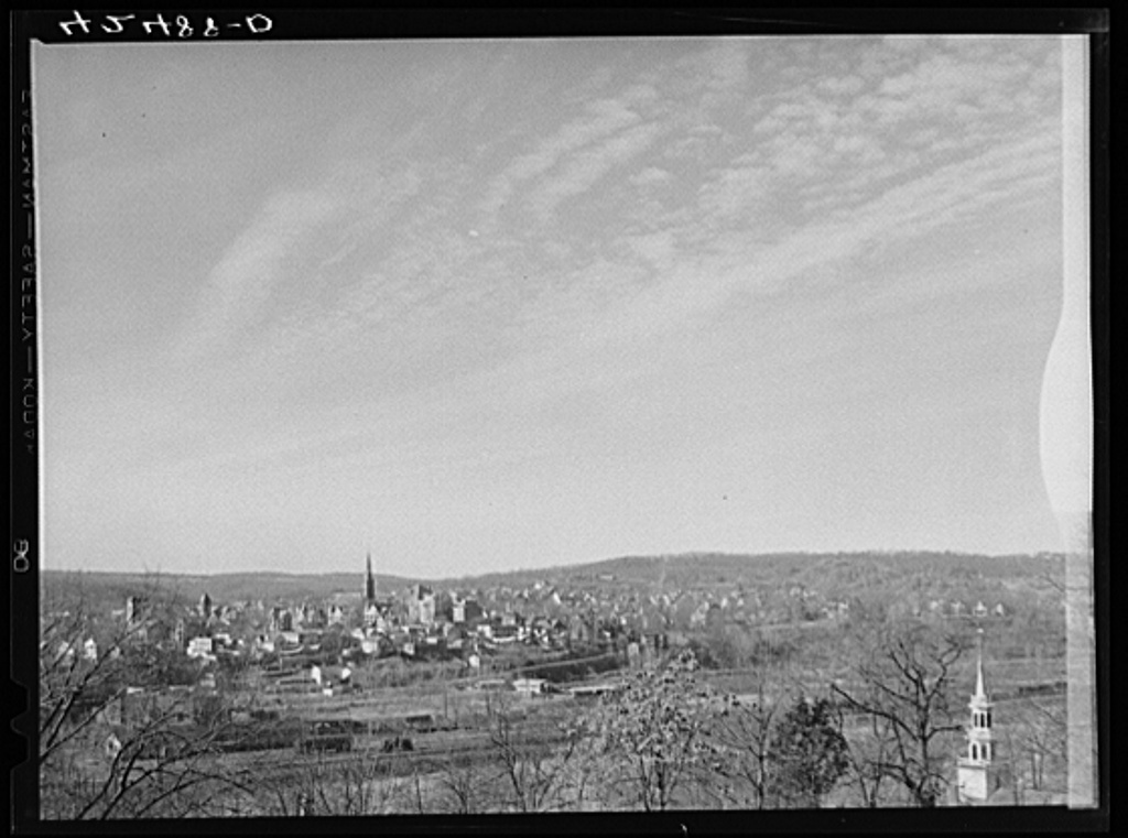 General view of Derby, Connecticut
