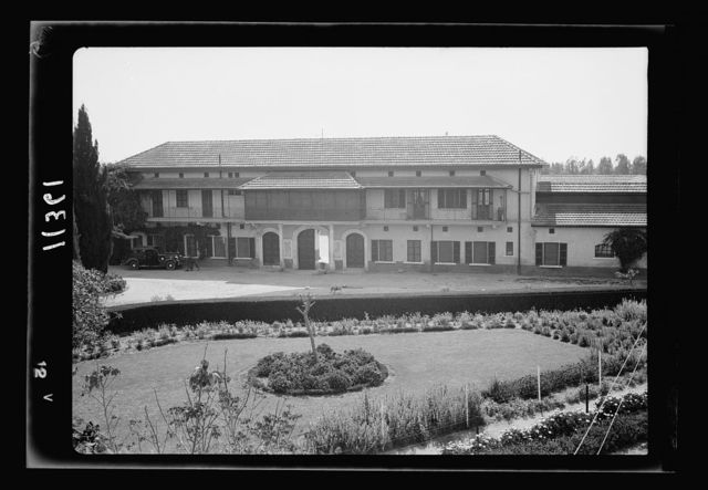 Government Stud Farm, Acre. The main building, offices & lodgings of the staff