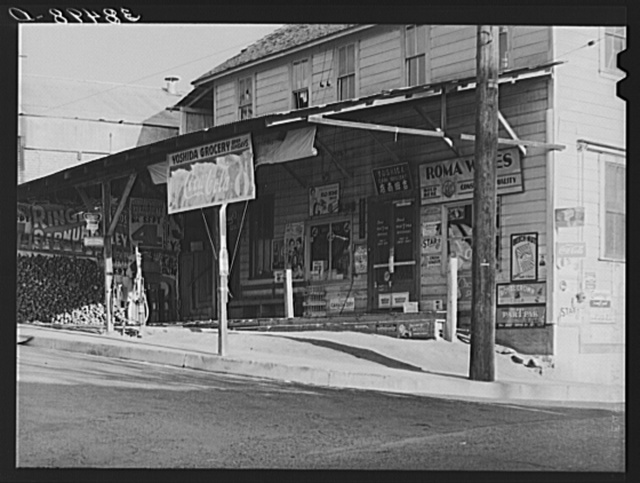 Grocery store. Loomis, Placer County, California