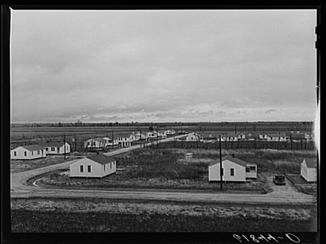 Group labor homes. Morehouse group. New Madrid County, Missouri.