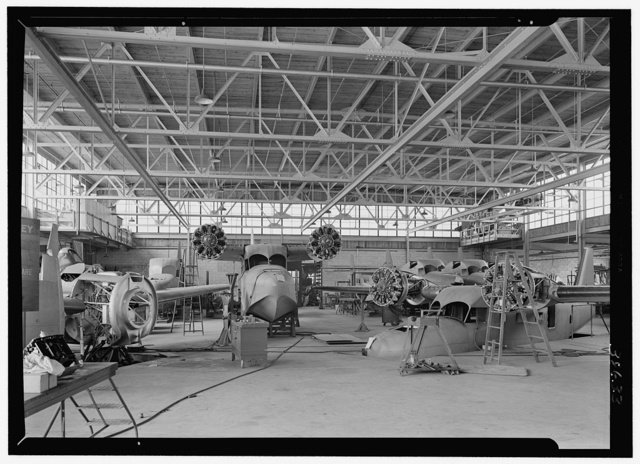 Grumman Aircraft Engineering Corp., Bethpage, Long Island. Interior II