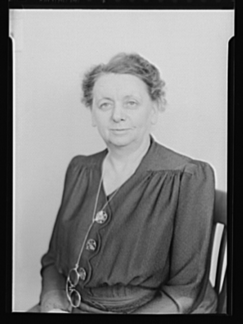 Harriet Elliott, Associate Administrator in Charge of the Consumer Division, Office of Price Administration (OPA)