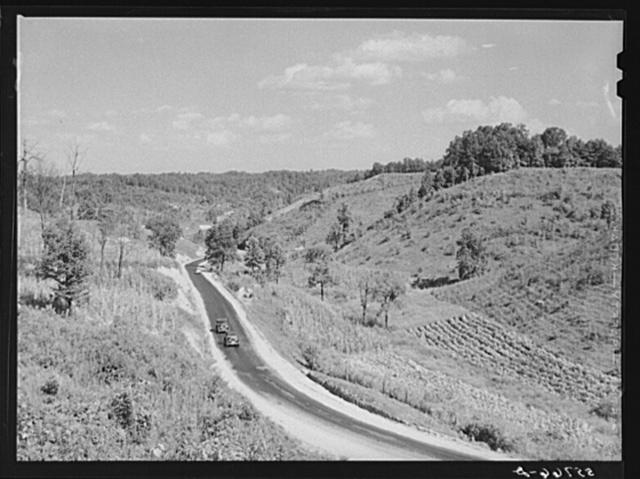 Highway near Campton, Kentucky