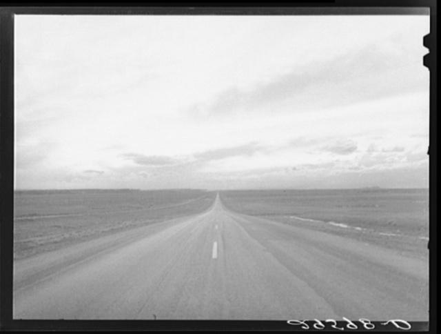 Highway U.S. 30. Sweetwater County, Wyoming