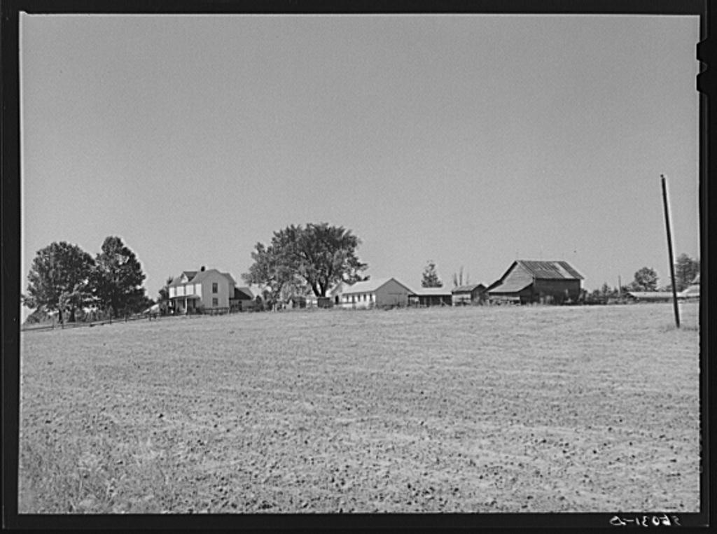 Home of E.O. Foster, FSA (Farm Security Administration) borrower. Caswell County, North Carolina