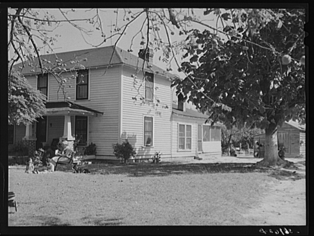 Home of Negro owner. Caswell County, North Carolina