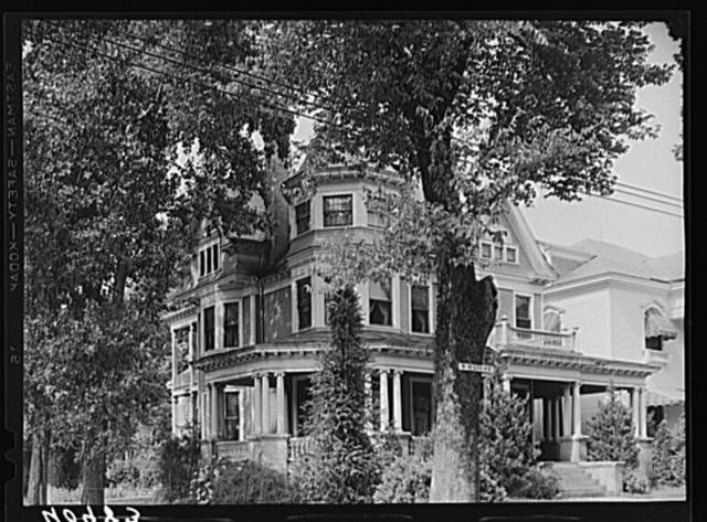 House on main street. Elizabeth City, North Carolina