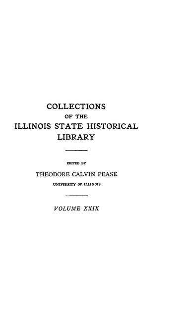 Illinois on the eve of the Seven Years' War, 1747-1755,