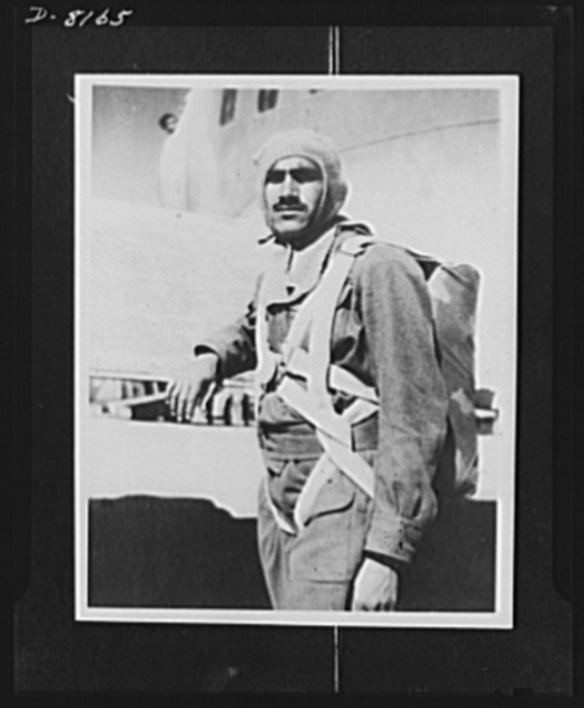 Indian parachute troops