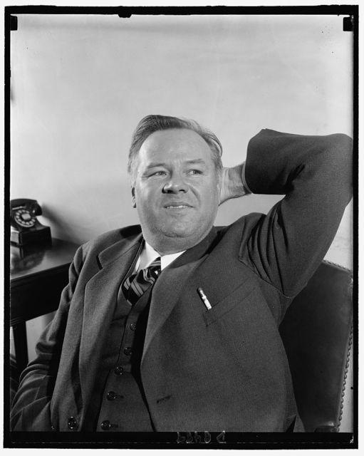 Informal photo of Rep. J. Hardin Peterson, Democrat from Fla., Feb. 26, 1940