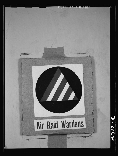 Insignia of Air Raid Protective Services