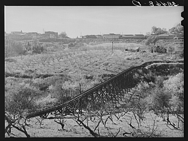 Irrigation pipe. Placer County, California