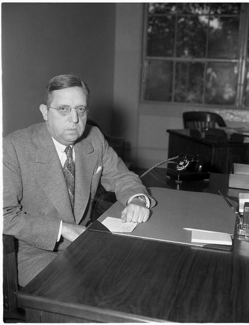 James W. Young, Director of Communications Division, Office of Commercial and Cultural Relations between the American Republics