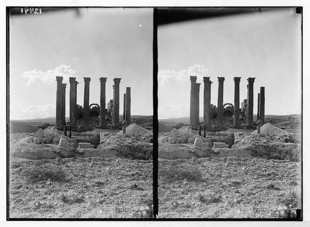 Jerash & pillars of Artemis
