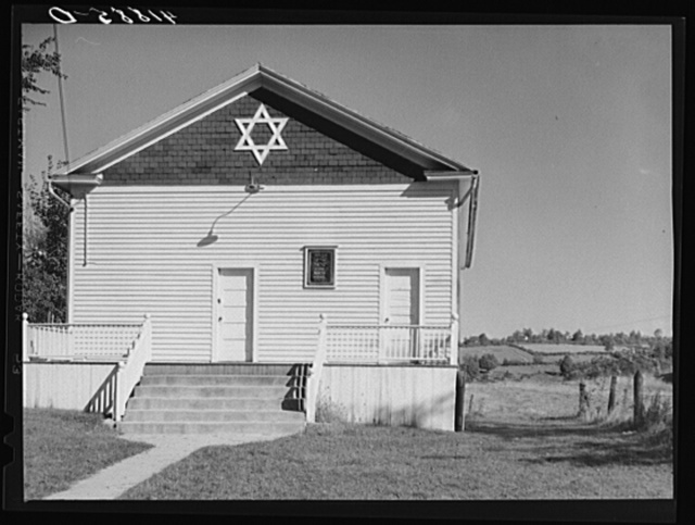 Jewish Synagogue in the Huntington District near Newtown, Connecticut, that serves fifteen Jewish families